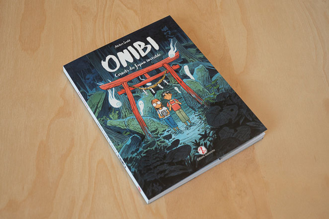 BD Onibi Carnets du Japon invisible - couverture