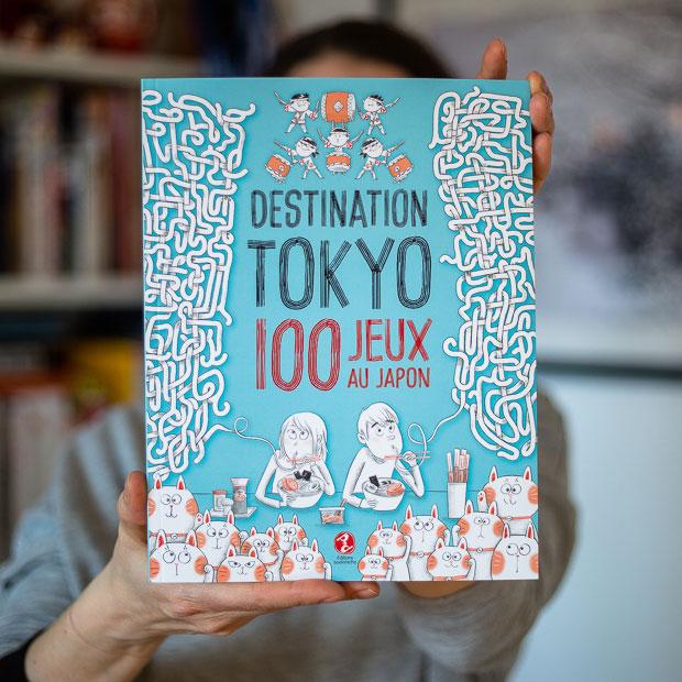Destination Tokyo - 100 jeux sur le Japon - couverture du livre
