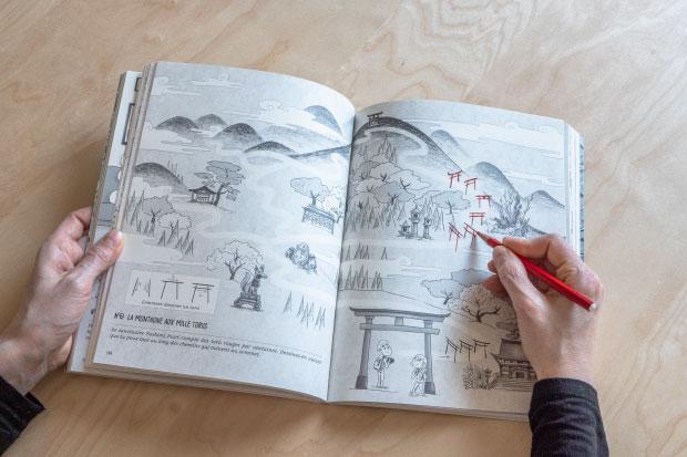 Destination Tokyo - 100 jeux sur le Japon - extrait double-page