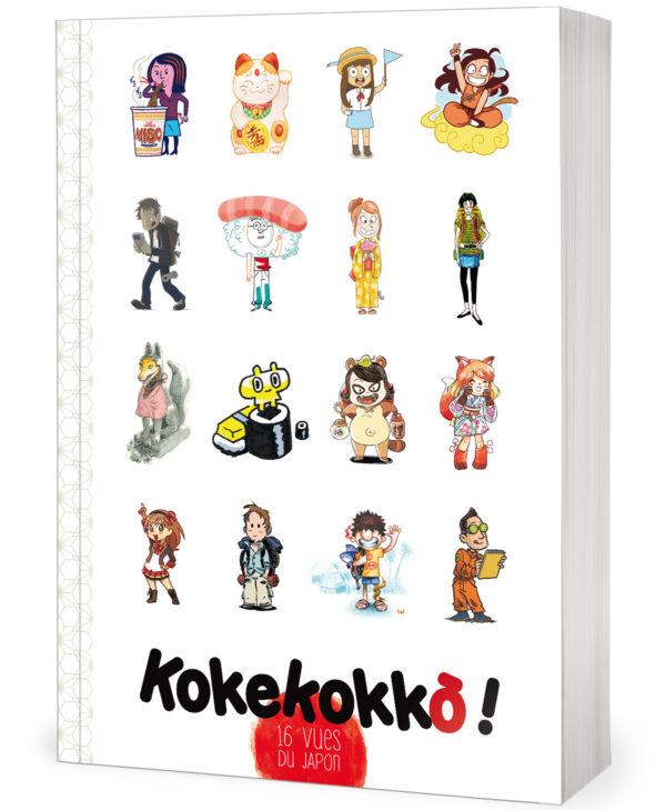 couverture d'une bande-dessinée sur le Japon