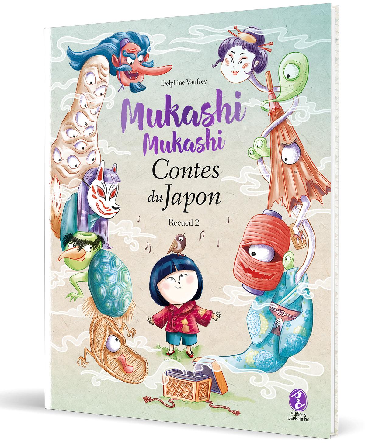 Mukashi mukashi - Contes du Japon - couverture