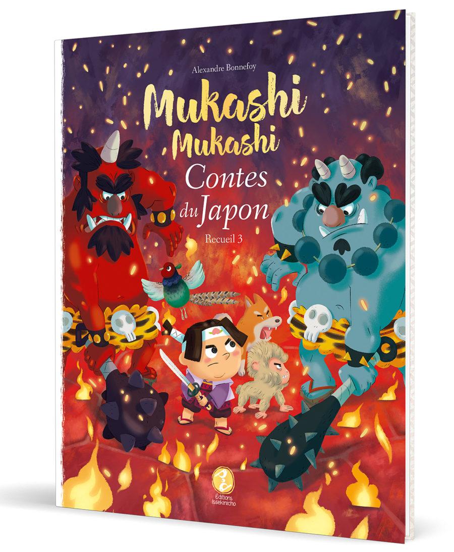 couverture d'un livre de contes japonais