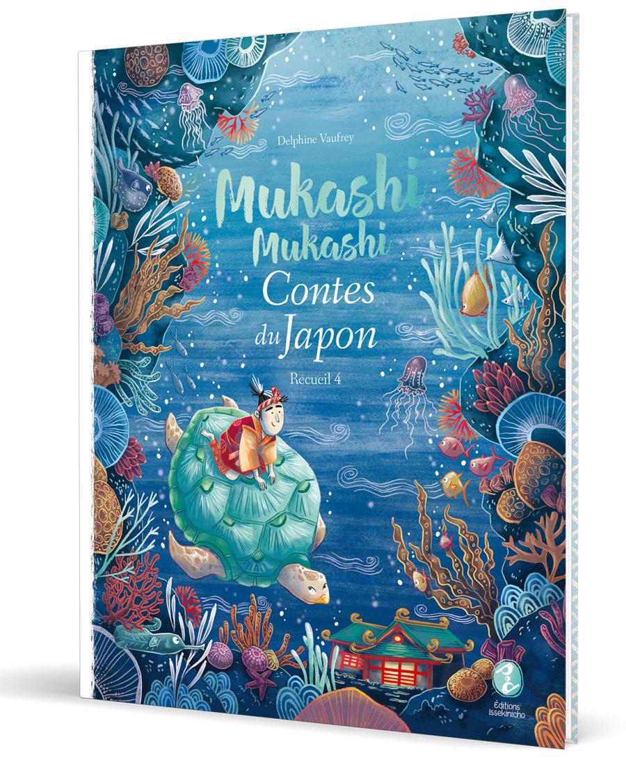 couverture de livre de contes japonais