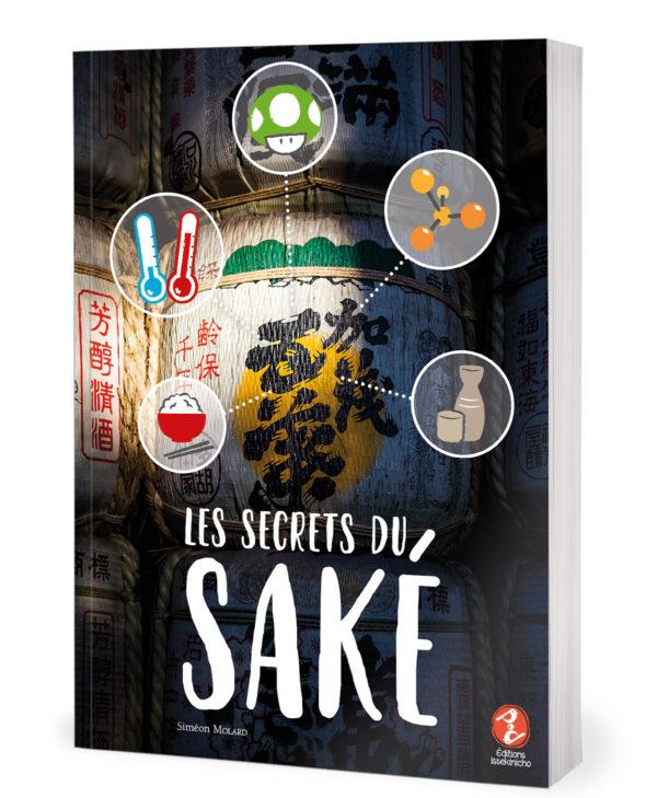couverture de livre sur le saké