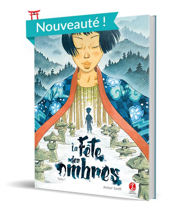 Bande-dessinée La Fête des Ombres par Atelier Sento