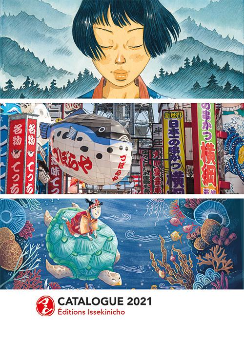 Catalogue 2021 Editions issekinicho, éditeur spécialisé Japon
