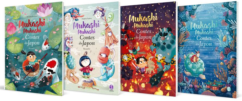 Mukashi mukashi, collection de livres de contes japonais pour les enfants